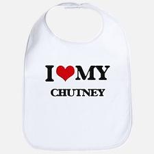 I Love My CHUTNEY Bib