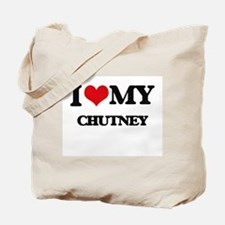 I Love My CHUTNEY Tote Bag