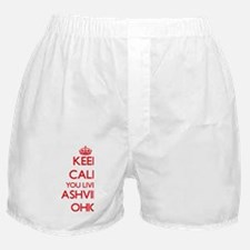 Keep calm you live in Ashville Ohio Boxer Shorts
