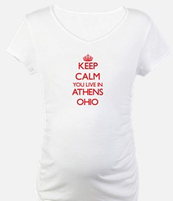 Keep calm you live in Athens Ohi Shirt