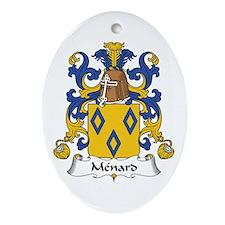 Ménard Oval Ornament