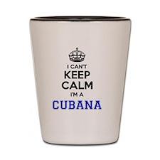 Funny Cubana Shot Glass