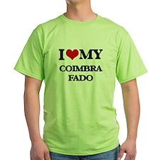 I Love My COIMBRA FADO T-Shirt