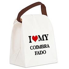 I Love My COIMBRA FADO Canvas Lunch Bag