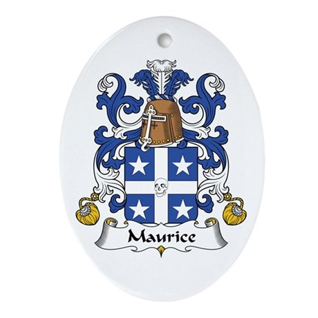 Maurice Oval Ornament