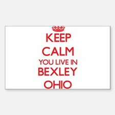Keep calm you live in Bexley Ohio Decal