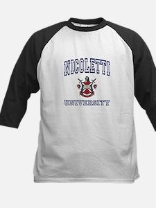 NICOLETTI University Kids Baseball Jersey