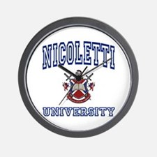 NICOLETTI University Wall Clock