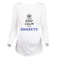 Damaris Long Sleeve Maternity T-Shirt