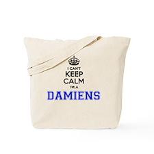 Funny Damien Tote Bag