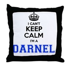 Funny Darnell Throw Pillow