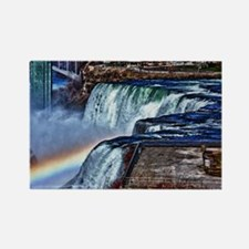 Cute Niagara falls honeymoon Rectangle Magnet