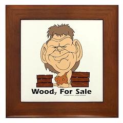 WOODy FOR SALE Framed Tile