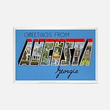 Augusta Georgia Greetings Rectangle Magnet