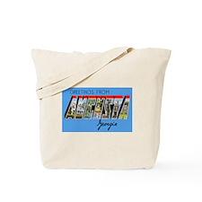 Augusta Georgia Greetings Tote Bag