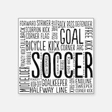 Soccer Word Cloud Sticker