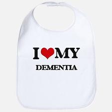 I Love My DEMENTIA Bib