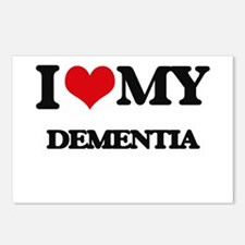 I Love My DEMENTIA Postcards (Package of 8)