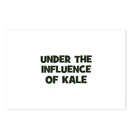 under the influence of kale Postcards (Package of