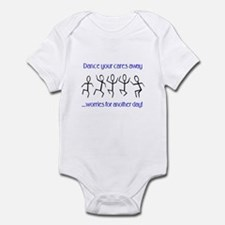 Dance your cares away Infant Bodysuit