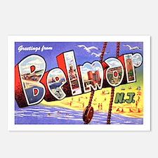 Belmar New Jersey Greetings Postcards (Package of