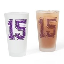 Retro 15 Drinking Glass