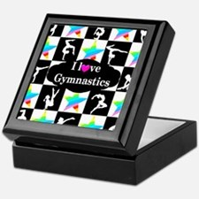 GYMNASTICS LOVE Keepsake Box