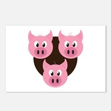 Three Little Pigs Postcards (Package of 8)