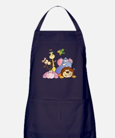 Jungle Animals Apron (dark)