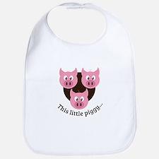 This Little Piggy... Bib