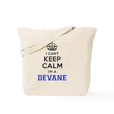 Funny Devan Tote Bag