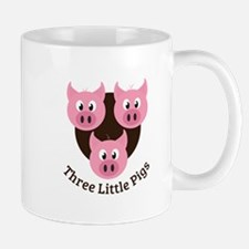Three Little Pigs Mugs