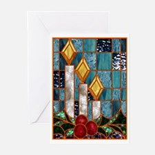 Christmas Candles Greeting Cards (6)