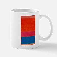 ROTHKO ORANGE BLUE 4 Mugs