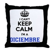Unique Diciembre Throw Pillow