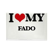 I Love My FADO Magnets