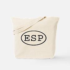 ESP Oval Tote Bag