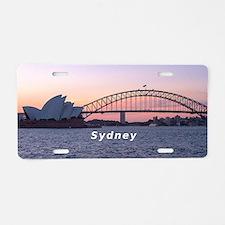Sydney Aluminum License Plate