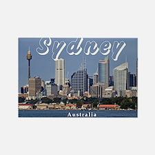 Sydney Rectangle Magnet