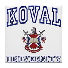 KOVAL University Tile Coaster