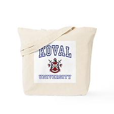 KOVAL University Tote Bag
