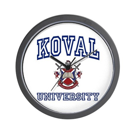 KOVAL University Wall Clock