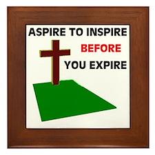 INSPIRATION Framed Tile