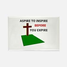 INSPIRATION Rectangle Magnet