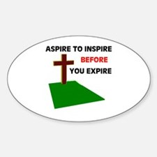 INSPIRATION Oval Decal