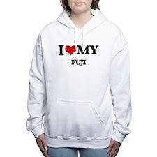 I Love My FUJI Women's Hooded Sweatshirt