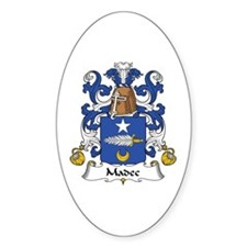 Madec Oval Decal