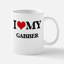 I Love My GABBER Mugs