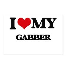 I Love My GABBER Postcards (Package of 8)