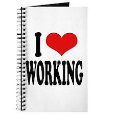 I Love Working Journal